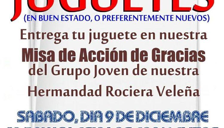 Hermandad de Vélez-Málaga – Campaña de Recogida de Juguetes