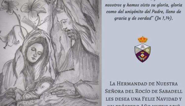 Hermandad de Sabadell – Felicitación de Navidad