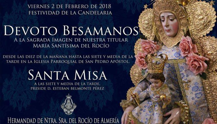 Hermandad de Almería – Devoto Besamanos