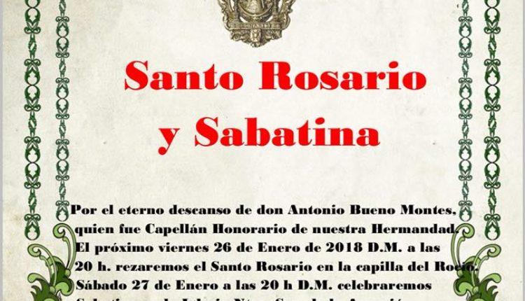 Hermandad de Bonares – Santo Rosario y Sabatina