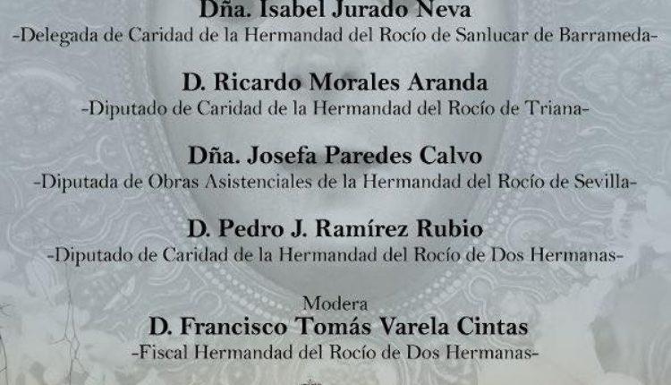 """Hermandad de Dos Hermanas – Mesa Redonda """"La Caridad en las Hermandades del Rocío"""""""