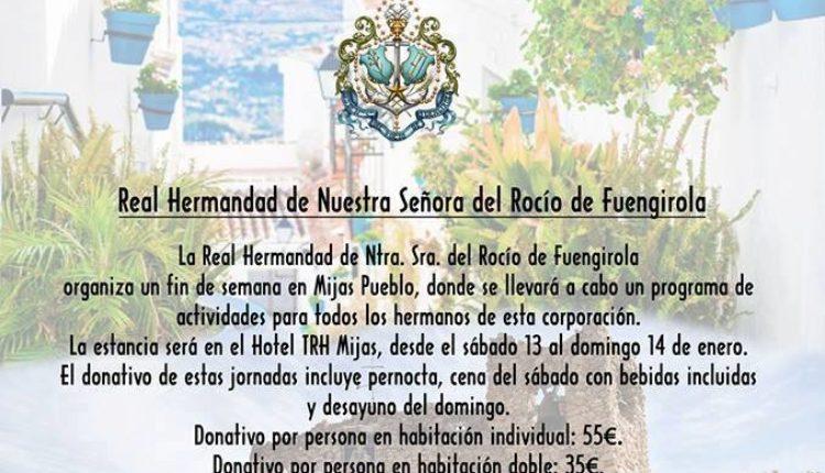 Hermandad de Fuengirola – Jornadas de Convivencia en Mijas Pueblo