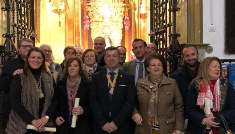 Hermandad de Sevilla Macarena – Entrega de diplomas a nuestros hermanos que han cumplido XXV año