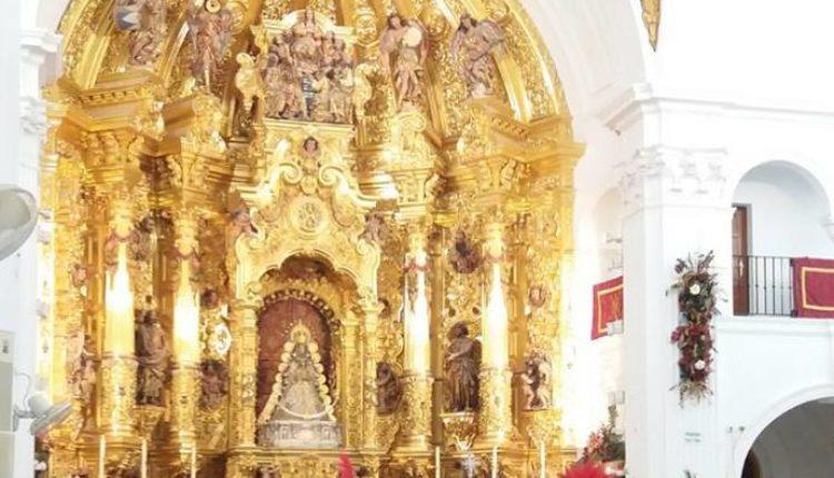 Los Reyes Magos de Oriente en el Santuario del Rocío