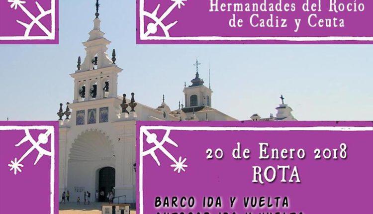 Convivencia preparatoria del Via Crucis penitencial de las Hermandades del Rocio de Cadiz y Ceuta