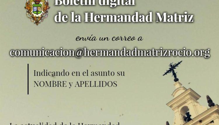 Hermandad Matriz – Boletín de Noticias