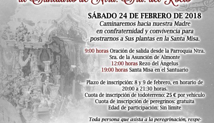 Heramandad de Olivares II Peregrinación de las Familias