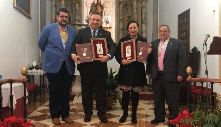 Hermandad de Antequera – D. Manuel Romero Triviño y D. José Manuel Martínez Pérez, Pregoneros del Rocío 2018