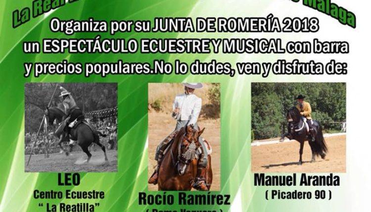 Hermandad de Málaga – Espectáculo Ecuestre y Musical