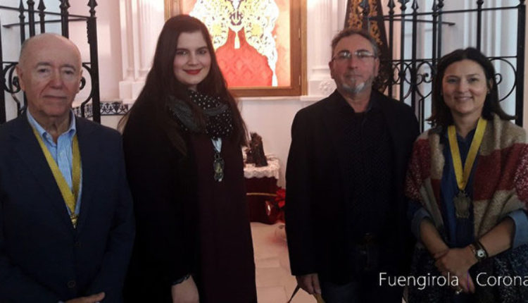 Hermandad de Fuengirola – Doña Cristina Sánchez, Pregonera del Rocío 2018 y a D. Francisco Pérez como Cartelista