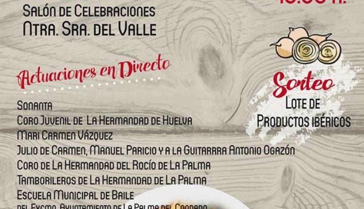 Hermandad de La Palma – VII Potaje Rociero con Actuaciones en Directo