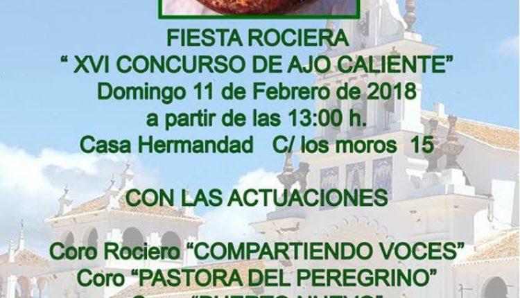 Hermandad del Puerto de Santa María – XVI Concurso de Ajo Caliente