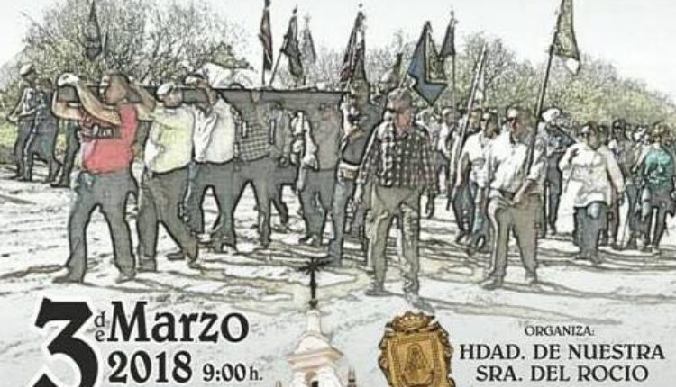 XX Vía Crucis penitencial de las Hdades del Rocío de Cádiz