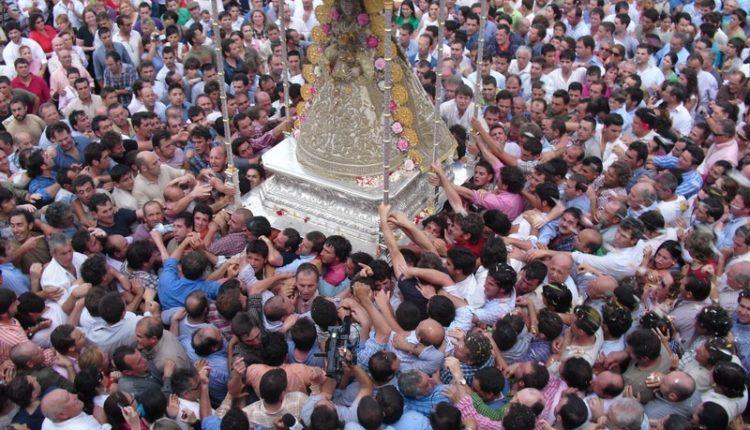 Procesión de la Virgen el lunes 21 de mayo  de 2018