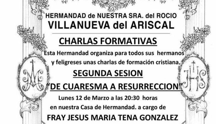 Hermandad de Villanueva del Ariscal – Charlas de Formación
