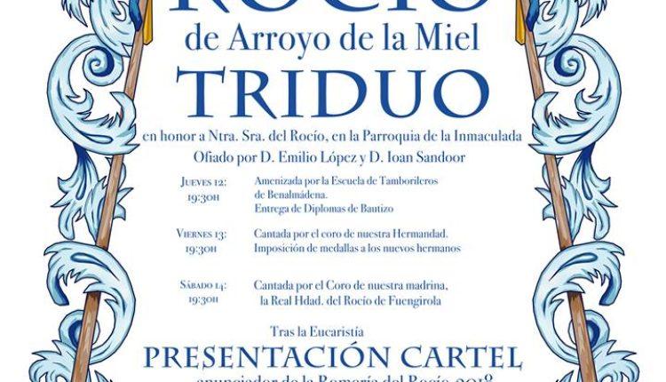 Hermandad de Arroyo de la Miel – Solemne Triduo 2018