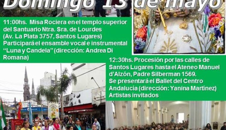 Centro Cultural Andalucía de Buenos Aires – Misa, Romería y Procesión de la Virgen del Rocío