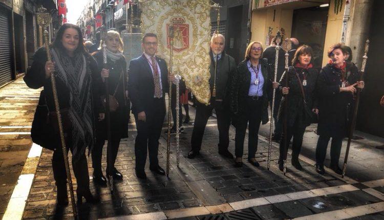 Hermandad de Navarra – En la Procesión de San Fermín