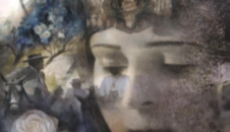 La mujer autora y figura en el cartel rociero – por Pozuelo Cabezón, Sergio Cruz