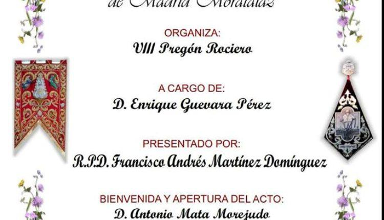 Hermandad de Madrid Moratalaz – VIII Pregón del Rocío 2018
