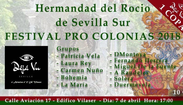 Hermandad de Sevilla Sur – Festival Pro-Colonias 2018