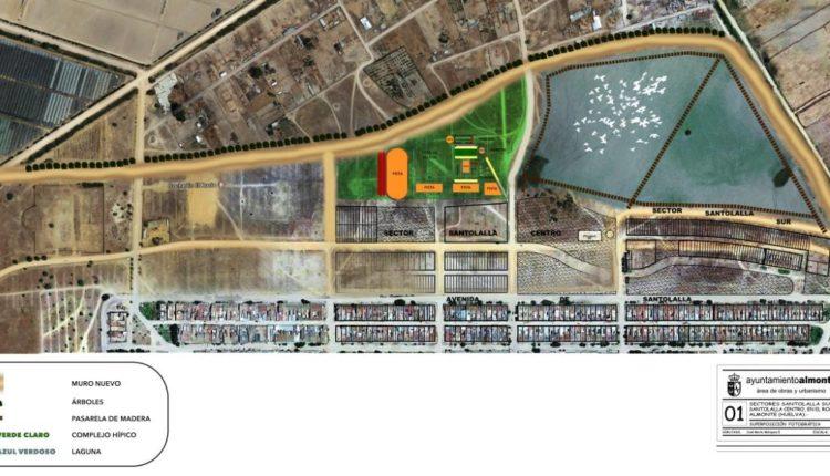 El Ayuntamiento de Almonte Construirá una Nueva Circunvalación en el Rocío