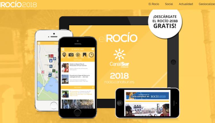Sigue la Romería del Rocío en «El Rocío APP 2018 de Canal Sur» – Colabora ROCIO.COM