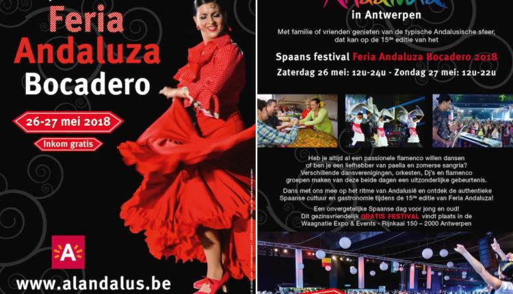 "Festival Español ""Feria Andaluza 2018"" en Amberes"