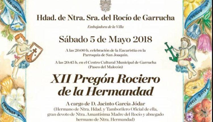 Hermandad de Garrucha – XII Pregón del Rocío 2018