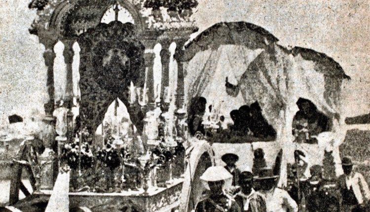 Primera Carreta de Plata de la Romería del Rocío, se cumplen 150 años de su estreno en Triana por Julio Mayo