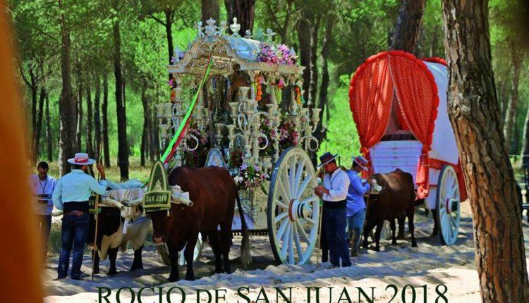 Hermandad de San Juan de Aznalfarache – Cartel del Rocío 2018