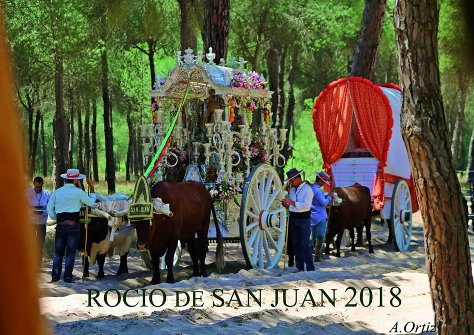 Hermandad de San Juan de Aznalfarache – Cartel del Rocío 2018 ...