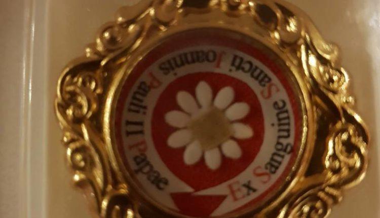 Una reliquia de primer grado de S.S. San Juan Pablo II para el Santuario del Rocío