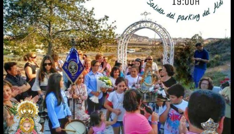 """Hermandad de Águilas – Romería Rociera Infantil anual a """"La Virgencica"""""""