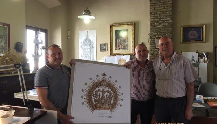Una Corona de Amor para Ntra. Sra. la Virgen del Rocío – Visita al Taller de los Hnos. Delgado en Sevilla
