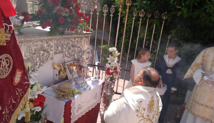 Hermandad de Barajas – Festividad del Corpus 2018