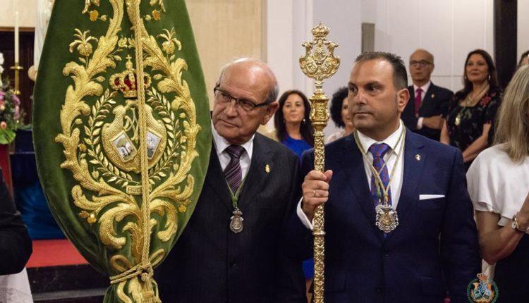 Hermandad de Huelva – Nuevo Hermano Mayor, D. Carlos Quintero Martín