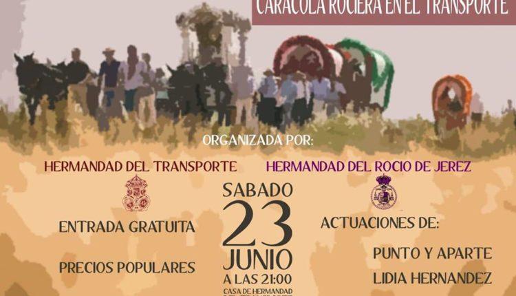 Hermandad de Jerez – Caracola Rociera en el Transporte
