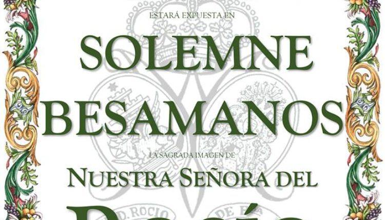 Hermandad de Sanlúcar de Barrameda – Besamanos Ntra. Sra. la Virgen del Rocío
