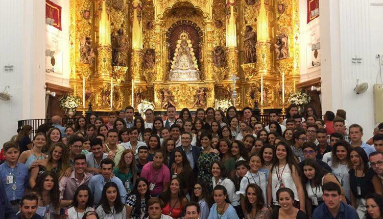 """El Encuentro de Jóvenes Rocieros 2018 cumple 30 años con el Lema: """"El centenario de la Coronación Canónica de la Virgen del Rocío"""""""