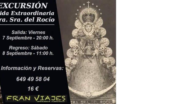 Hermandad de Badajoz – Excursión al Rocío el 8 de Septiembre de 2018