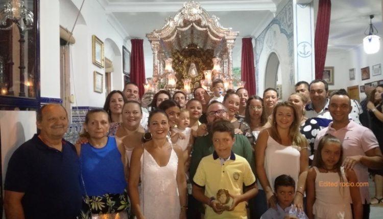 Hermandad de Isla Cristina – La casa «LA PICARONA» Canta la Salve