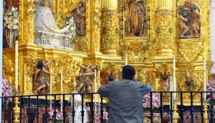 """Hoy se nos ha ido un gran hombre de la Virgen y un amigo; Curro Ramírez, o Curro """"el largo"""","""