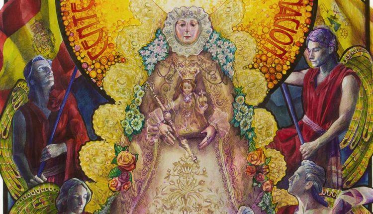 Cartel anunciador del Centenario de la Coronación Canónica de la Virgen del Rocío