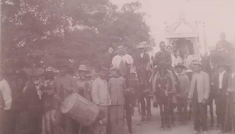 La Hermandad de Ntra. Sra. del Rocío de Huelva en El Rocío de 1920