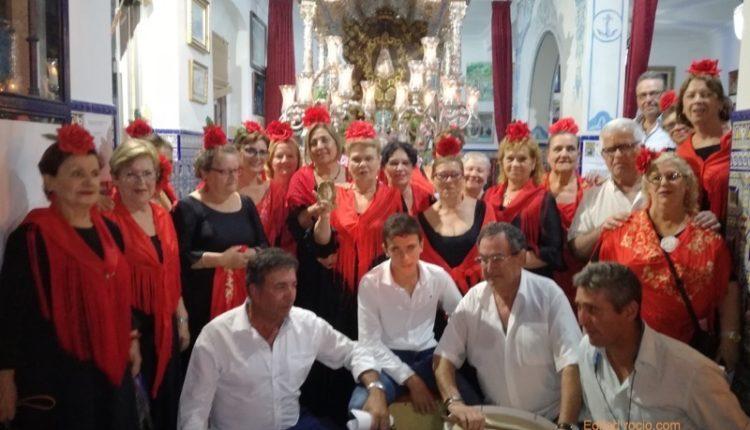 Hermandad de Isla Cristina – José Ant. Aguilera y el Coro del centro de Mayores Cantan la Salve