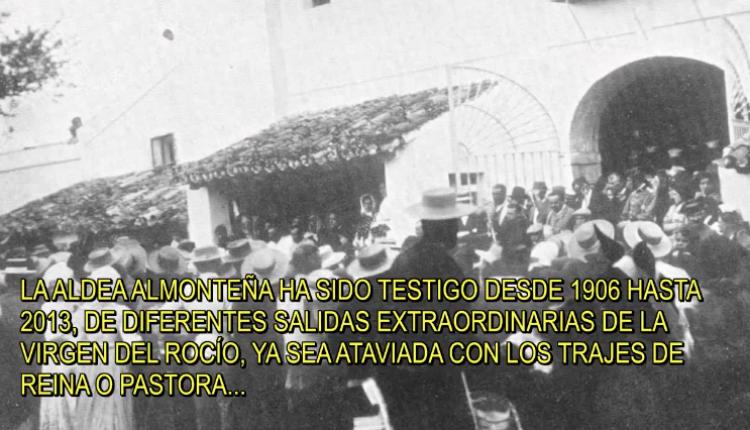 Audiovisual de todas las Procesiones Extraordinarias de la Virgen del Rocío desde 1906 a 2013.