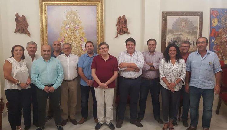 Reunión de la Comisión de las Hermandades del Rocío Gestión Proyecto Corona de Amor