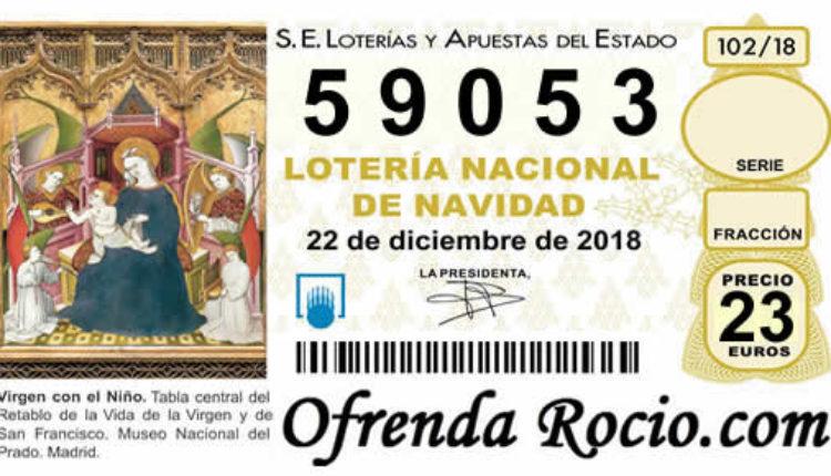 Ofrenda del Foro 2018 – Lotería de Navidad 59.053