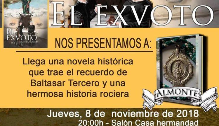 """Presentación de la novela """"El Exvoto"""" de José Leyva Cuesta"""